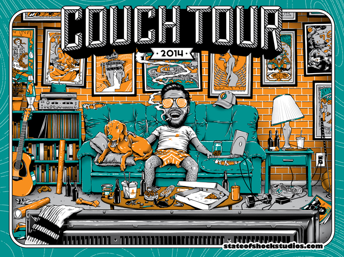 Couch Tour 2014 Green Variant
