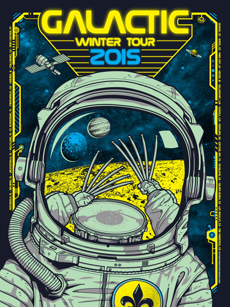 Galactic: Winter Tour 2015 Green Variant
