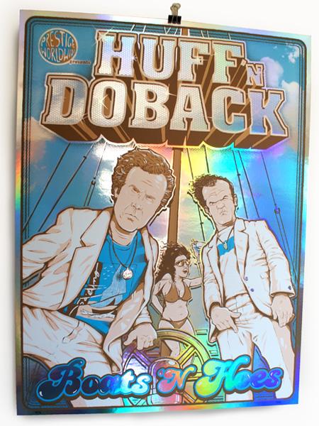 Huff 'n Doback Rainbow Foil