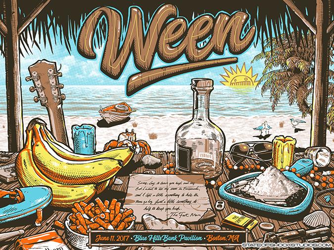 Ween: Boston 2017 Regular Edition