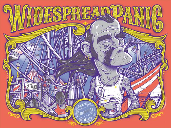 Widespread Panic: Cincinnati 2013 Regular Edition