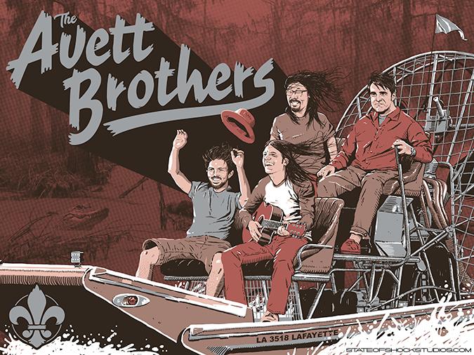 The Avett Brothers: Lafayette 2018 Regular Edition