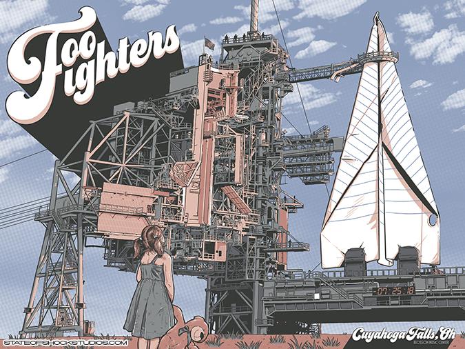 Foo Fighters: Cuyahoga Falls 2018 Regular Edition
