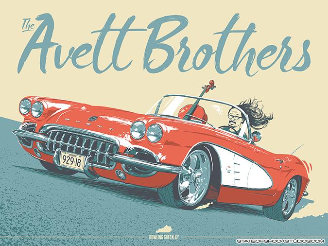 Avett Brothers: Bowling Green 2018 Regular Edition