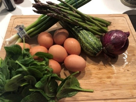 Fresh ingredients from the Port Royal Farmers Market