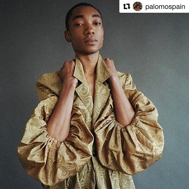 #Repost @palomospain 🌞 ・・・ @byluisvenegas has photographed dear @ndongluis for Free Magazine 5th Issue 💫