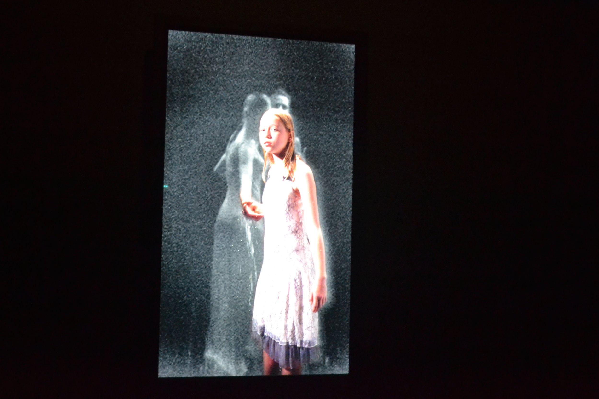 Bill Viola,  Three Women,  (stillbilde fra video) ,  2008