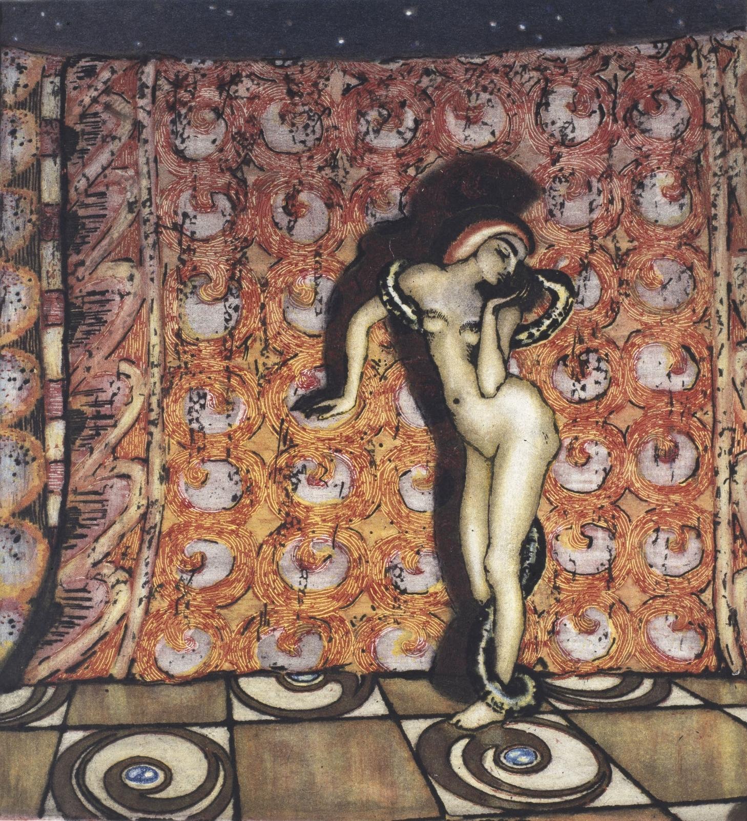 Olaf Lange,  Salammbôs dans , 1904