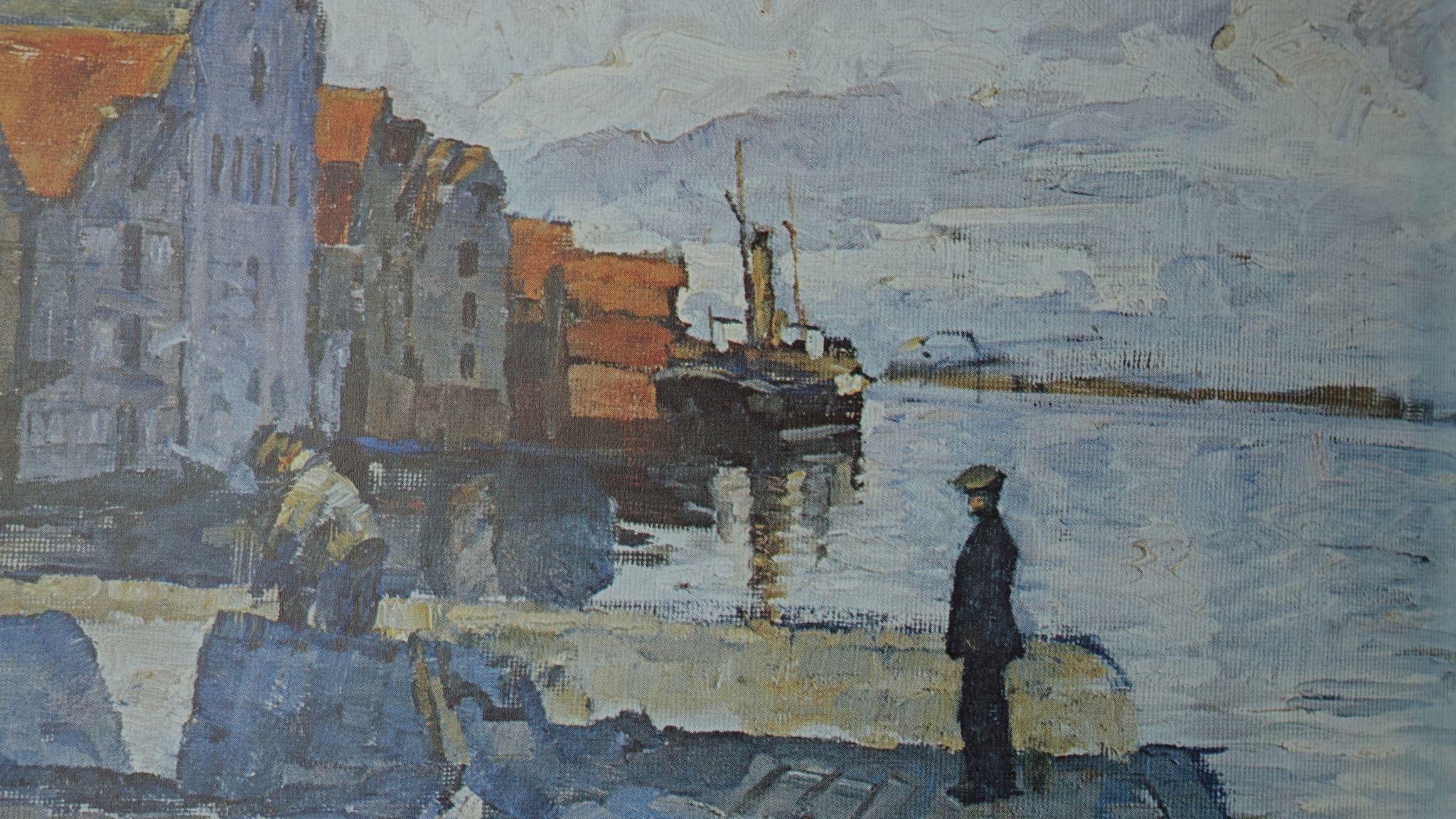 Strandsiden Blaaveir , Olaf Lange