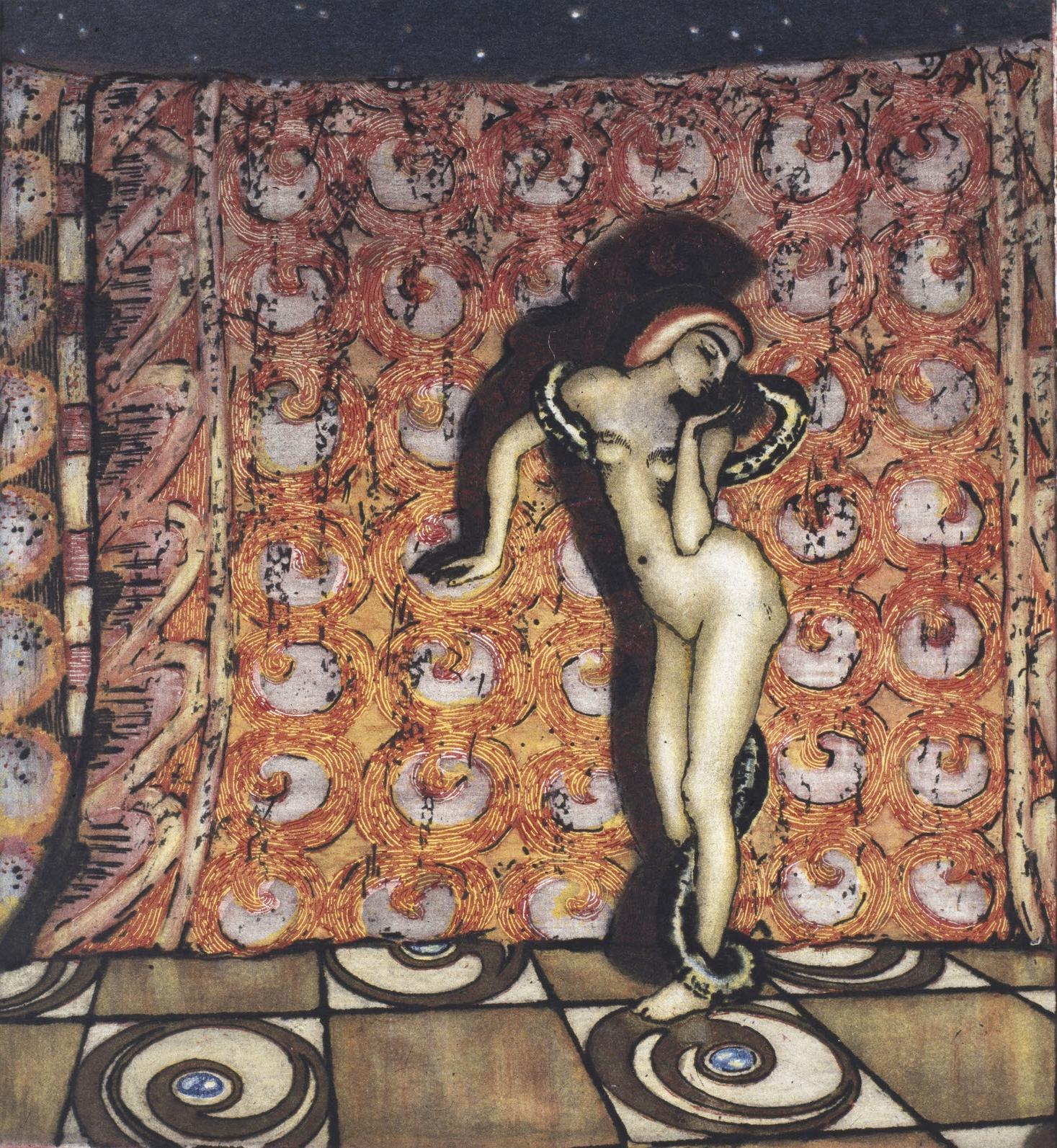 Salammbó , 1904, Olaf Lange