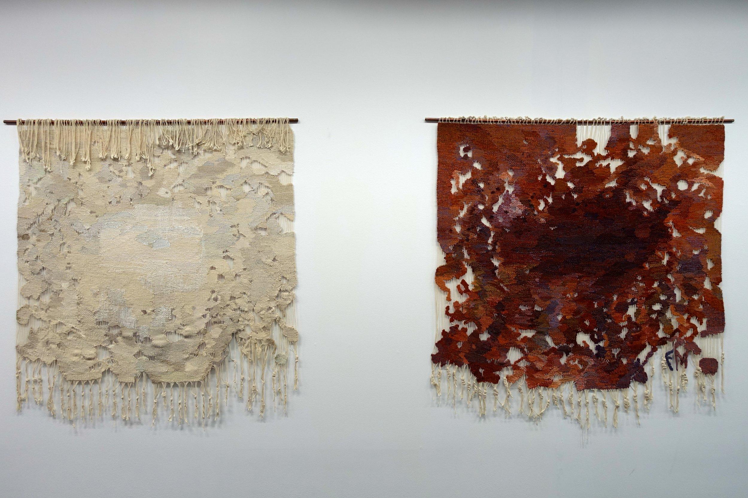 Else Marie Jakobsen (1927-2012),  Hvor rust tærer / Hvor møll tærer,  1994