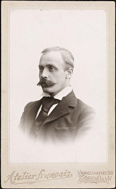 Sigbjørn Obstfelder, fotograf fra 1900.