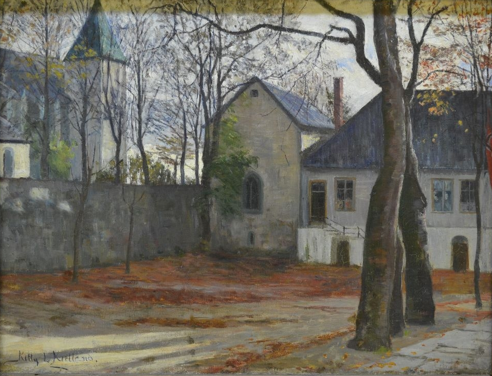 Kongsgård,  Kitty Kielland