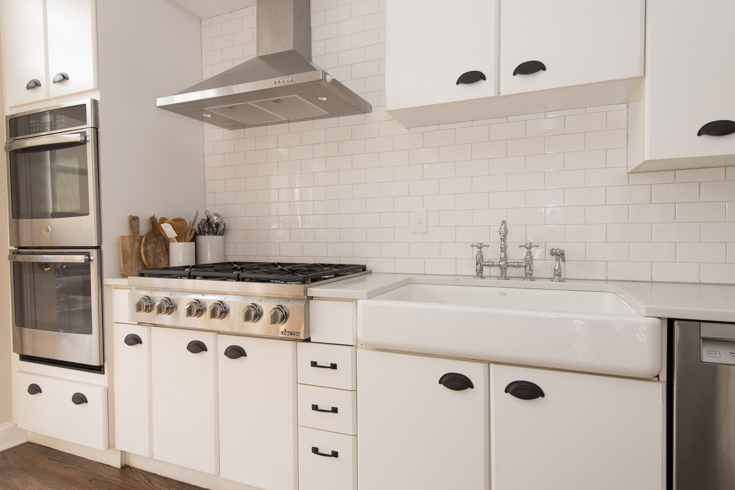 Lincoln Park townhouse kitchen
