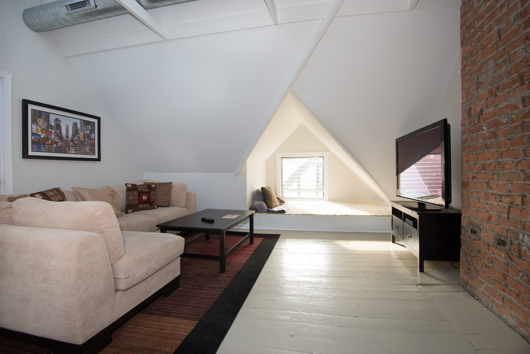 Oak Park historic home finished attic