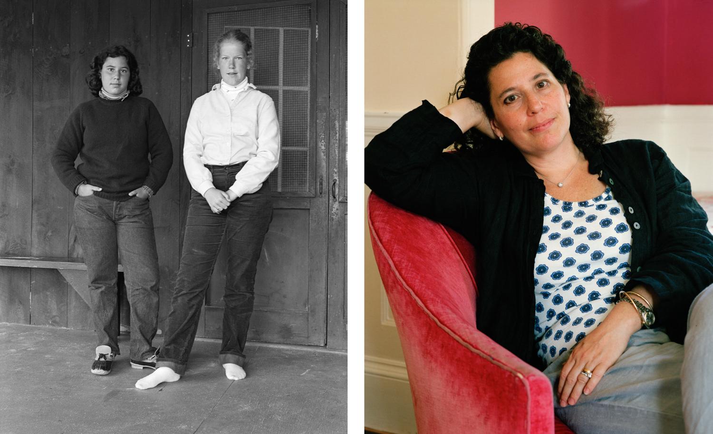 Elyse Rosenblum (left), Camp Pinecliffe, Harrison, ME; Elyse Rosenblum, MA