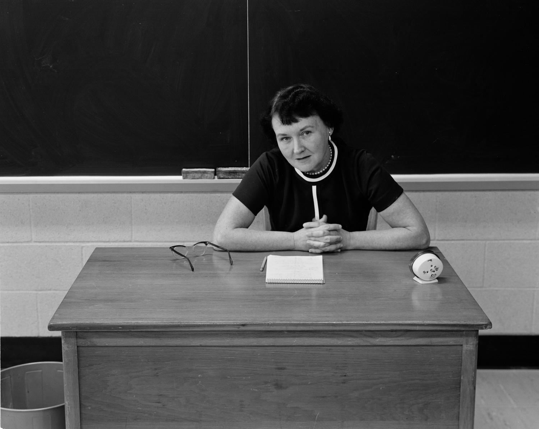 Religious School Teacher, Betty Zollars, 1976