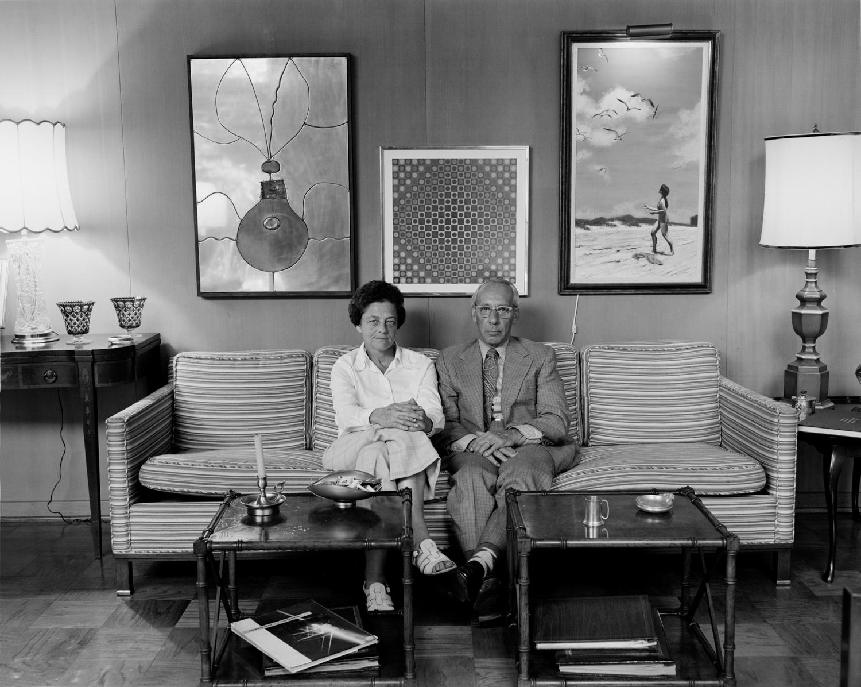 Gloria & Carl Herman, Houston, TX, 1975