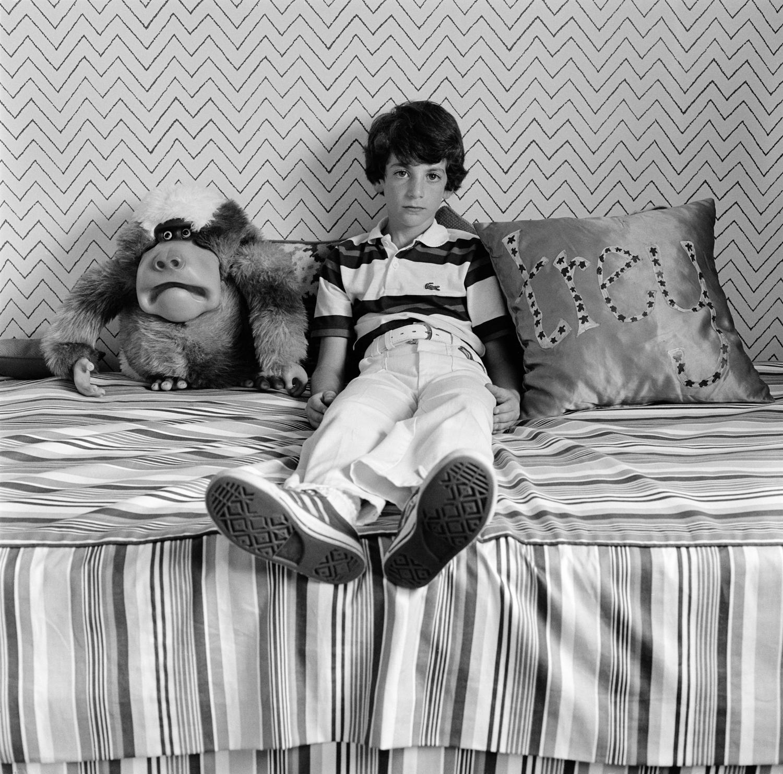 Trey Wise in his Bedroom, Houston, TX, 1978