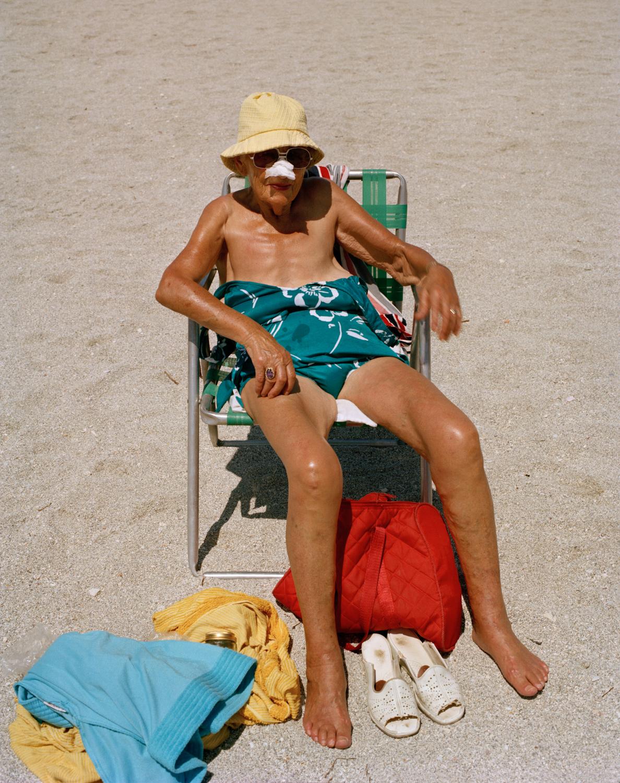 Untitled (Woman Sunbathing)   Miami - South Beach 1982-85