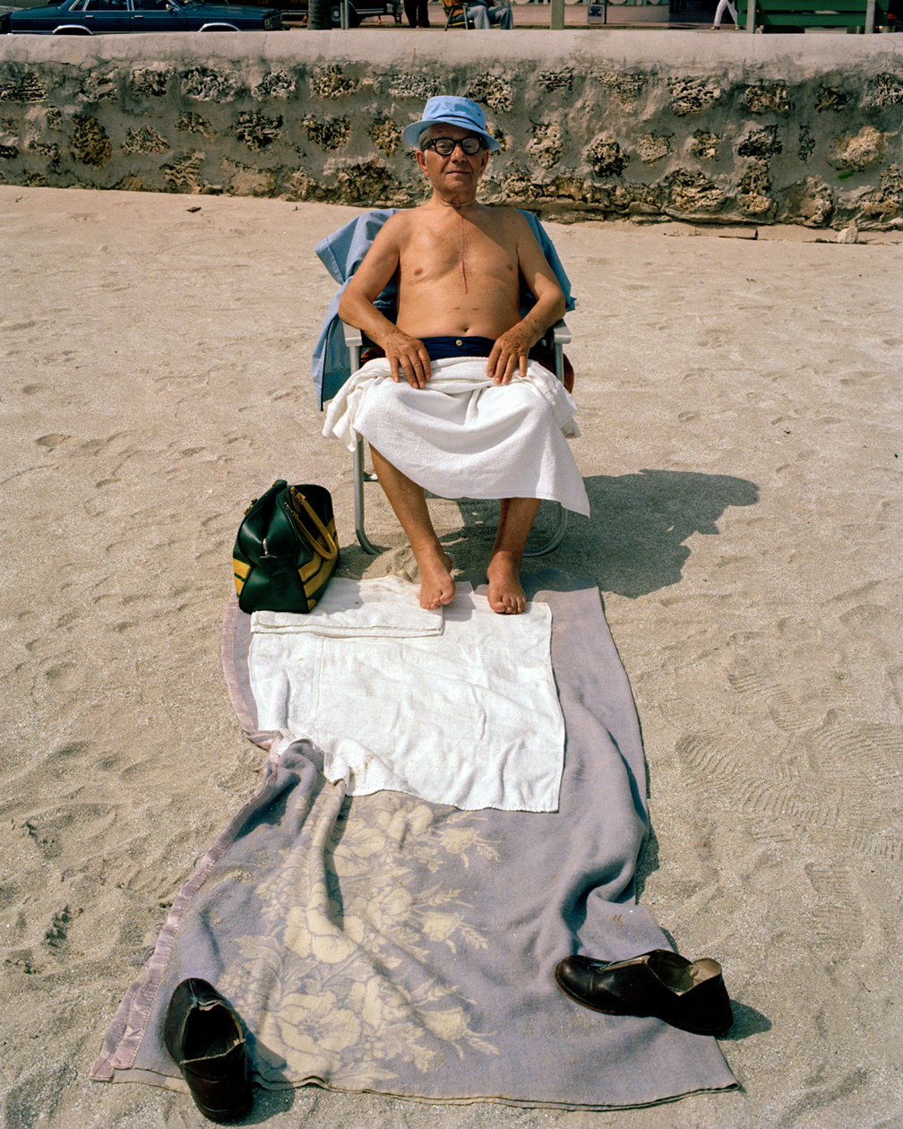 Untitled (Man with Towels)   Miami – South Beach 1982-85