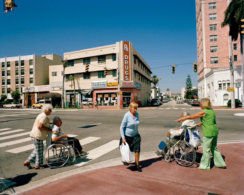 Untitled (Wheelchairs)   Miami - South Beach 1982-85