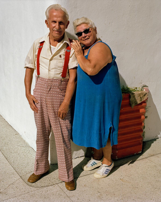 Untitled (Couple on Corner) Miami - South Beach 1982-85