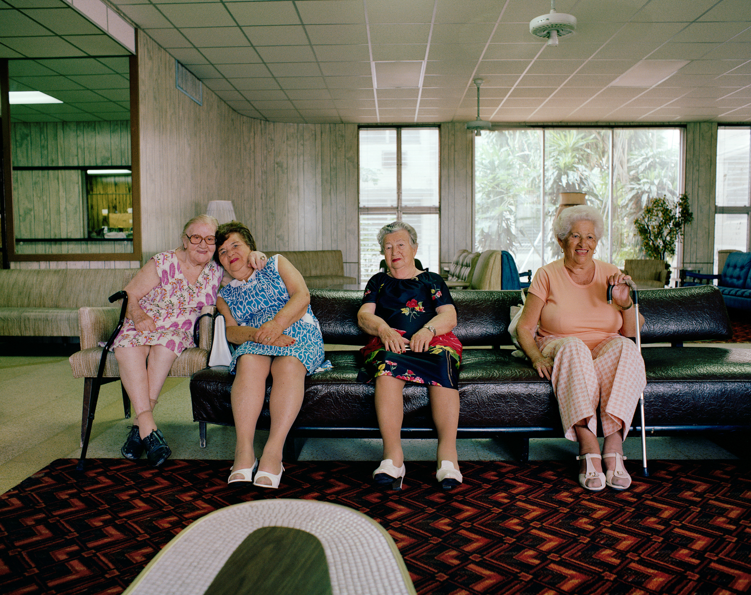 Untitled (Four Women on Couch) Miami - South Beach 1982-85