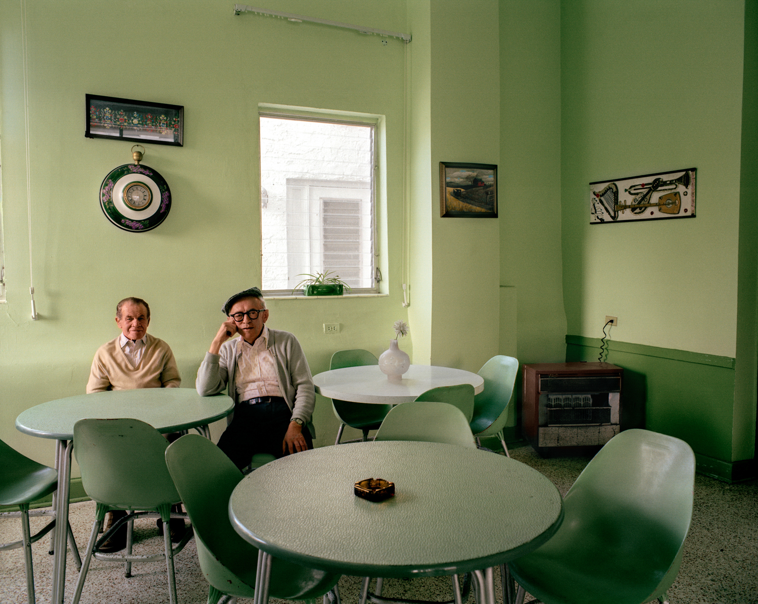 Untitled (Men in Green Room) Miami - South Beach 1982-85