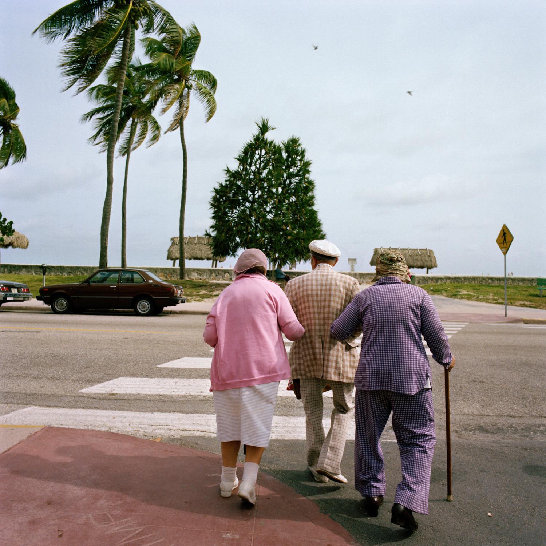 Untitled (3 Crossing Street) Miami - South Beach 1982-85