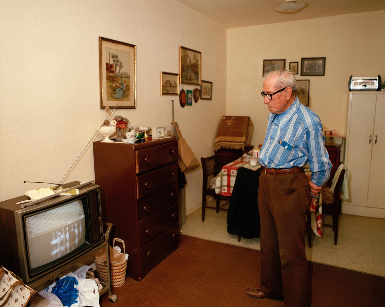 Untitled (Man Watching TV) Miami - South Beach 1982-85