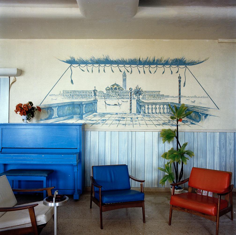 Untitled (Blue Piano) Miami - South Beach 1982-85