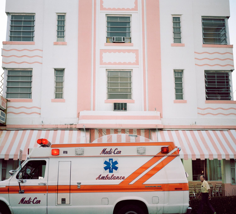 Untitled (Ambulance) Miami - South Beach 1982-85
