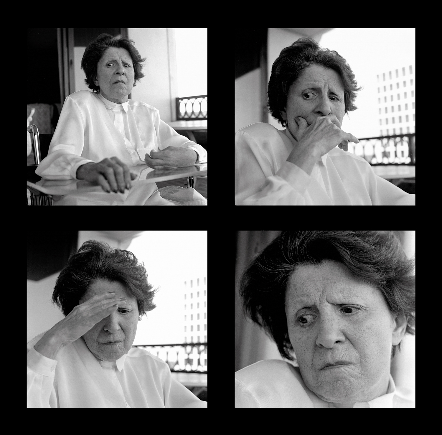 The last images I made of Mother. She had deteriorated and was often angry. She died a month later, in 1991.