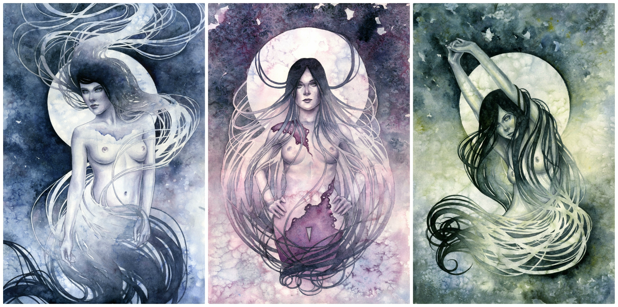 Muses Triptych