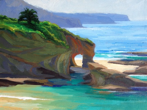 Jessica Byrne_The Montage Arch, High Tide.JPG