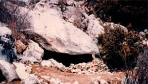 Cave at Nego Mountain
