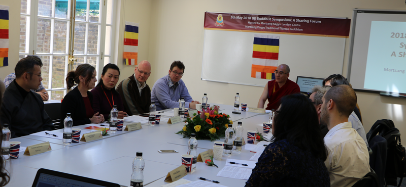 UK Buddhism Symposium was attended by leaders of Buddhist Centre's from across the UK, and the scholar Professor Scherer