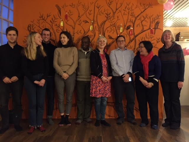 The lovely volunteers team members of Martsang Kagyu London Buddhist Centre