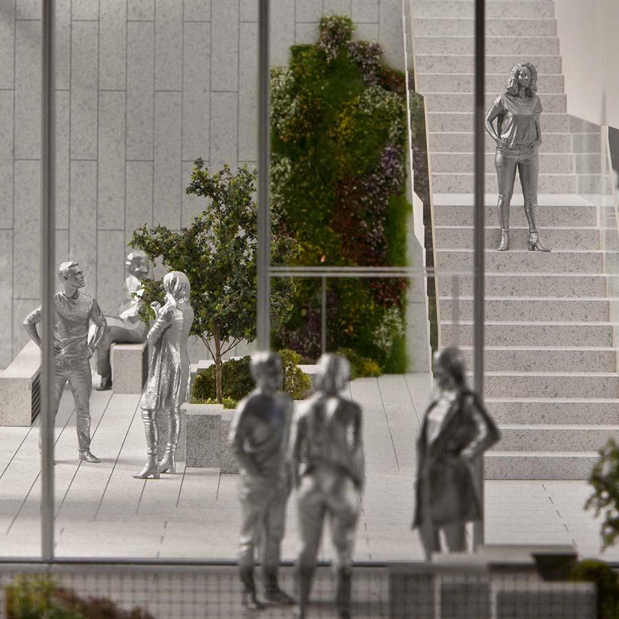 BIG (Bjarke Ingels Group)  66 Hudson Boulevard - The Spiral Detail Model