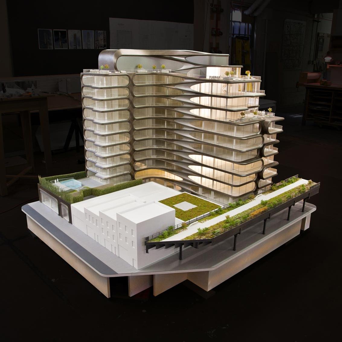 Zaha Hadid Architects  520 West 28th Street