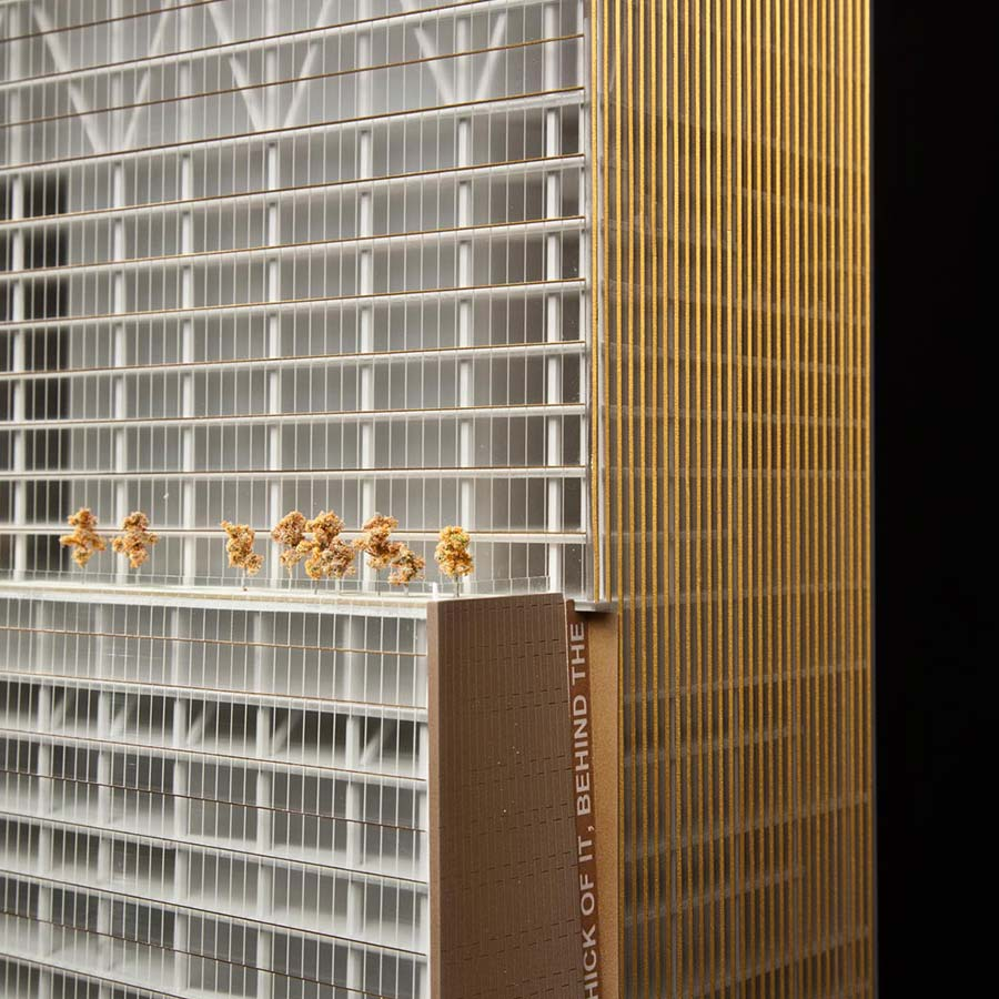 BIG (Bjarke Ingels Group)  World Trade Center - Tower 2