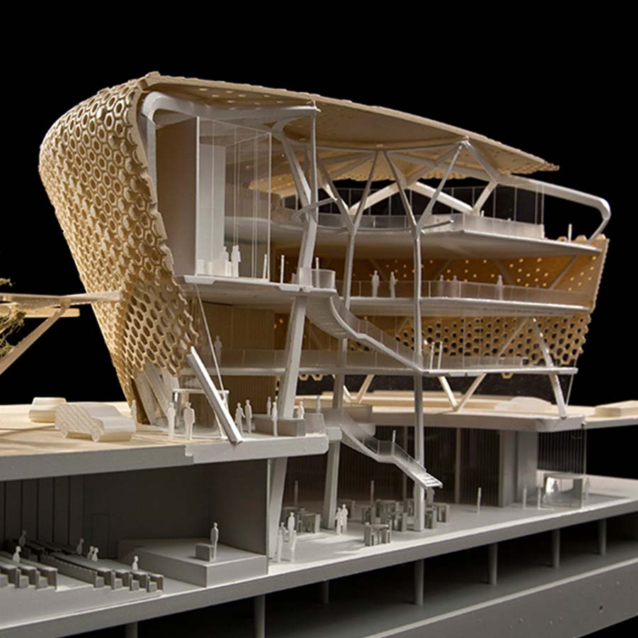Grimshaw Architects  AVIC Building Section