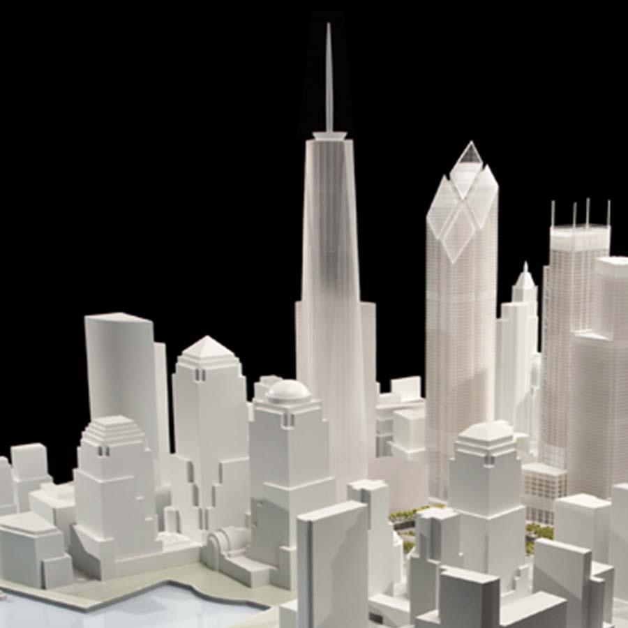 Silverstein Properties  World Trade Center Site Model