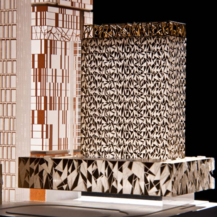 KPF (Kohn Pedersen Fox Associates)  Seoul Tower Studies