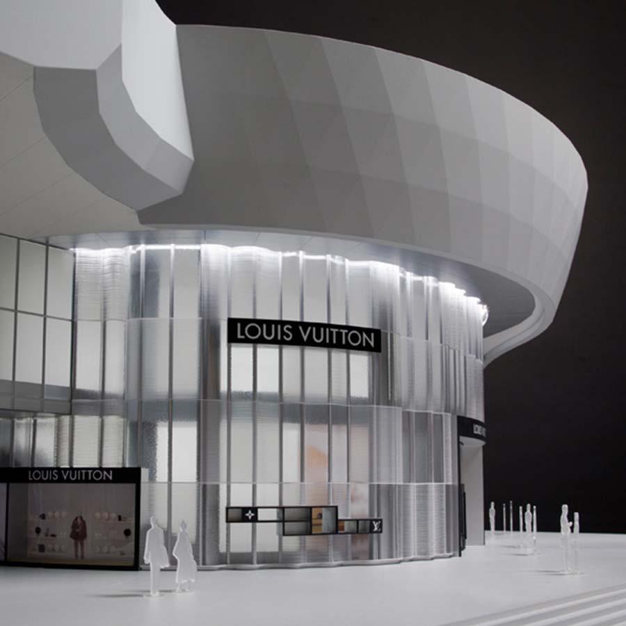 FRONT Inc.  Louis Vuitton Facade
