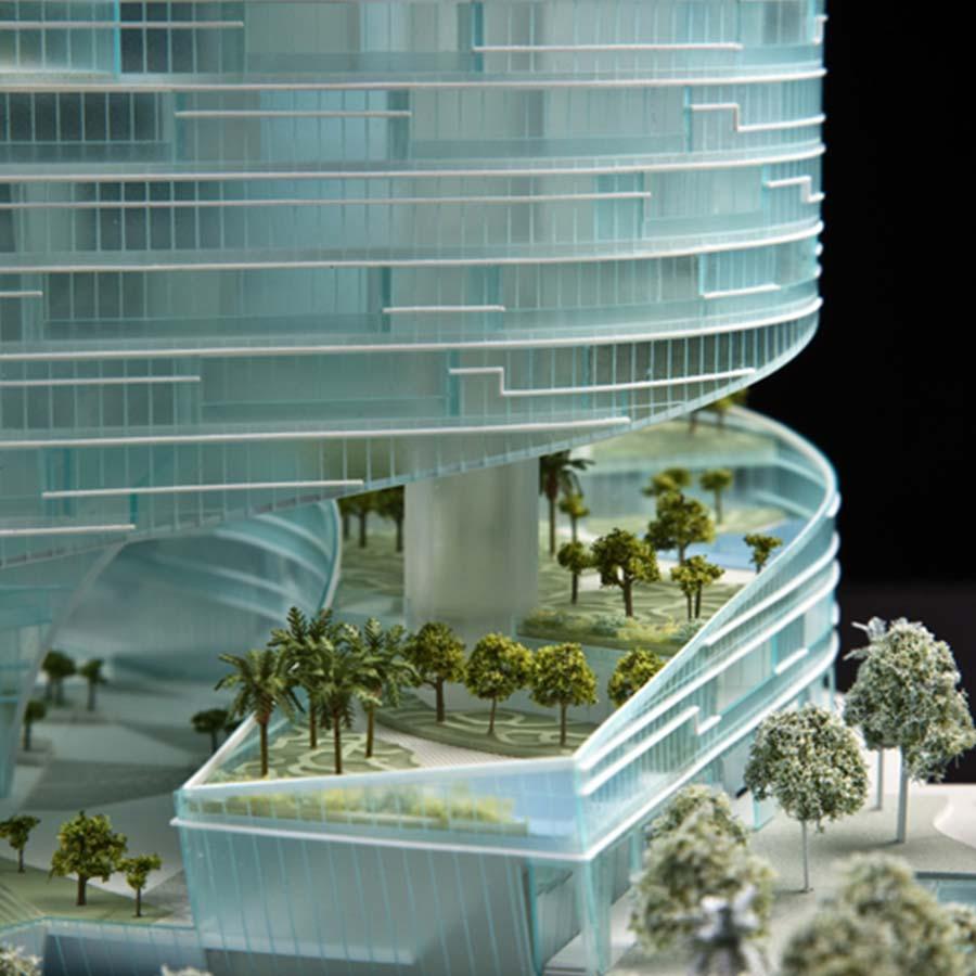 Studio Daniel Libeskind  Monaco Sports Tower