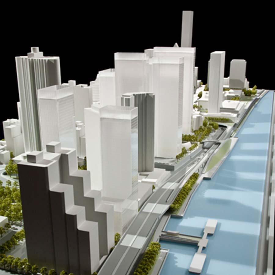 SOM (Skidmore, Owings, & Merrill)  East River Waterfront