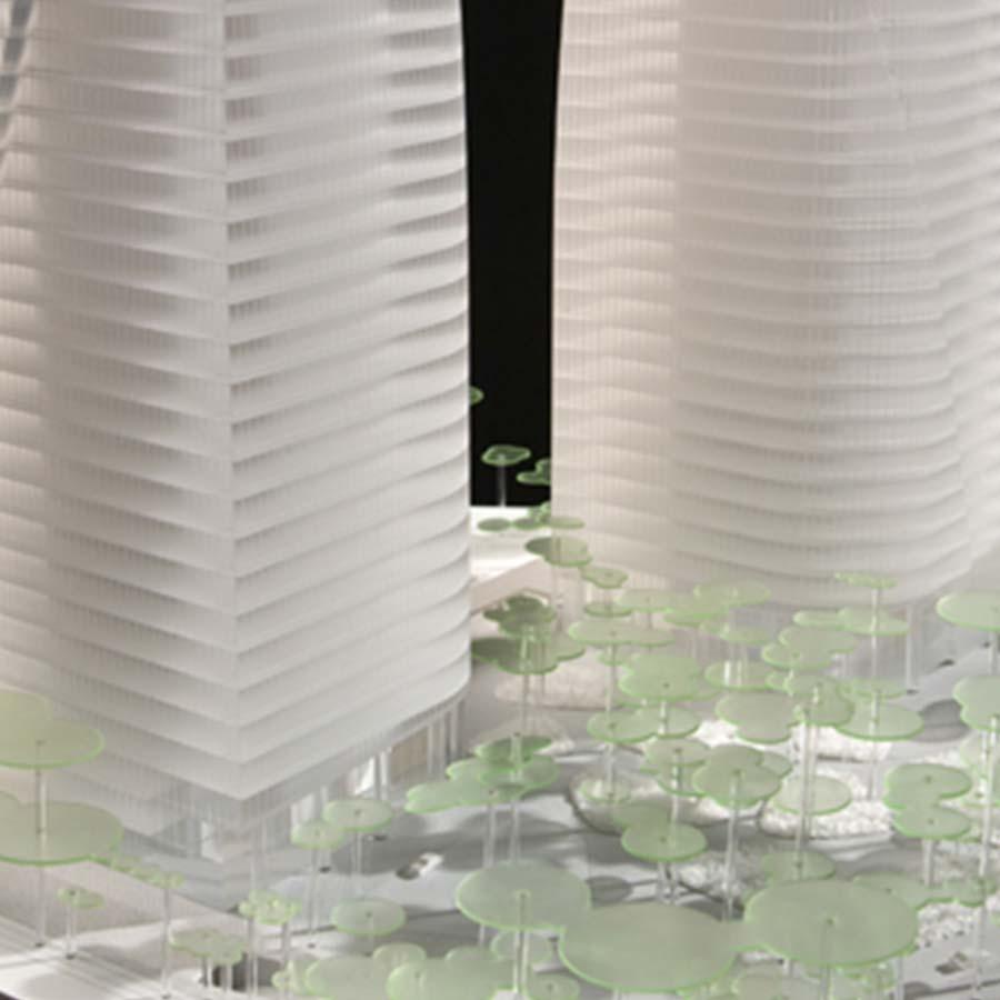 Pelli Clarke Pelli Architects  Brazil Towers