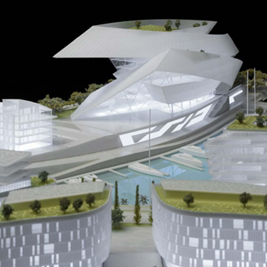 Studio Daniel Libeskind  Cape Grace (Competition)